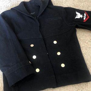 Jackets & Blazers - Vintage Custom Military Jacket
